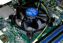 Intel Xeon E3 1200 V6 Heatsink Fan