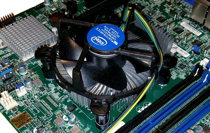 Intel Xeon E3 1200 V6 Heatsink Fan