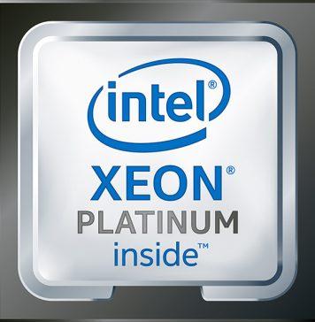 Intel Xeon Platinum Inside Black