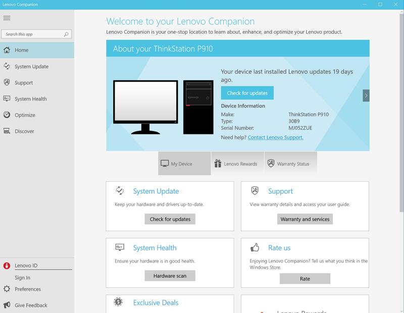 Lenovo ThinkStation P910 Review: Advanced Dual Xeon Workstation for