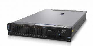 Lenovo System X3650 Front Three Quarter