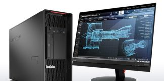 Lenovo ThinkStation P910 ThinkVision P27