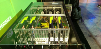 NVIDIA 8 GPU Proof Of Concept System