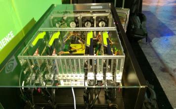 NVIDIA 8 GPU Proof Of Concept System