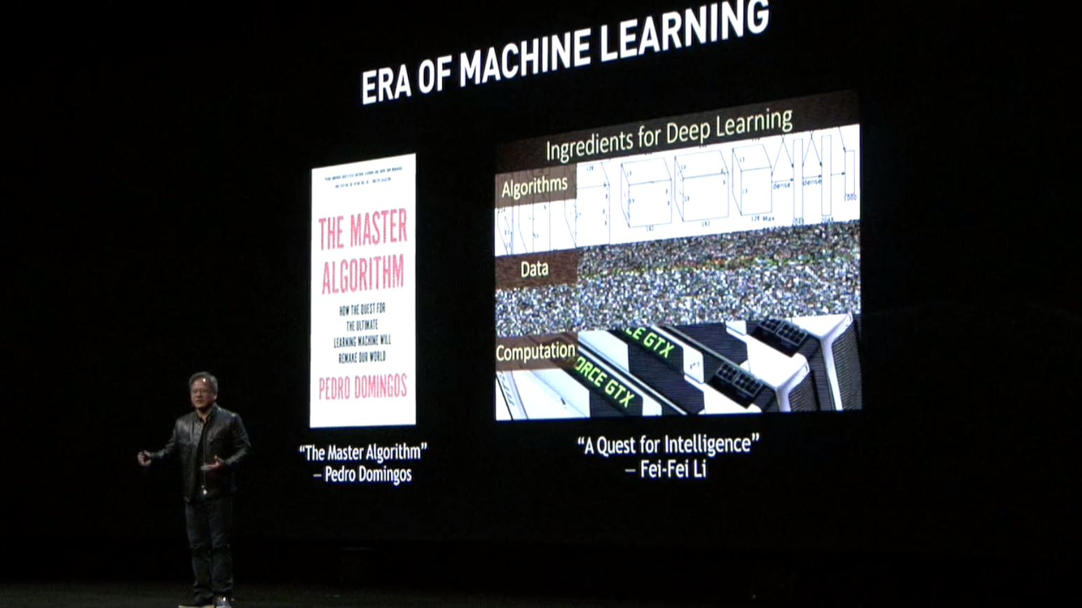 NVIDIA GTC 2017 Era Of Machine Learning