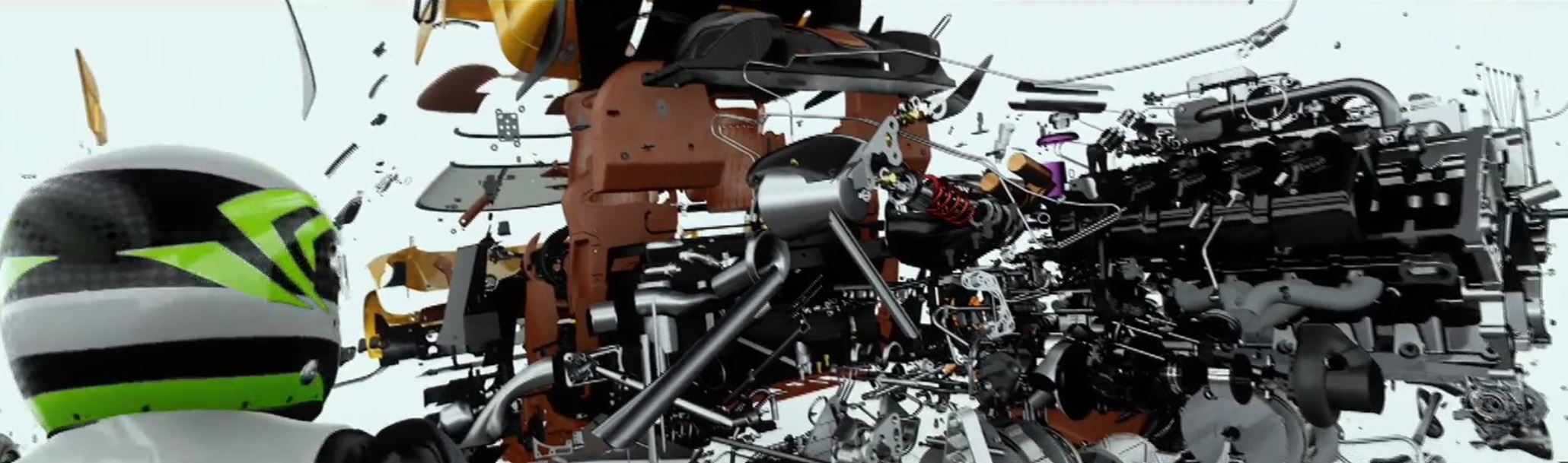 NVIDIA GTC 2017 Holodeck Koenigsegg Parts Demo
