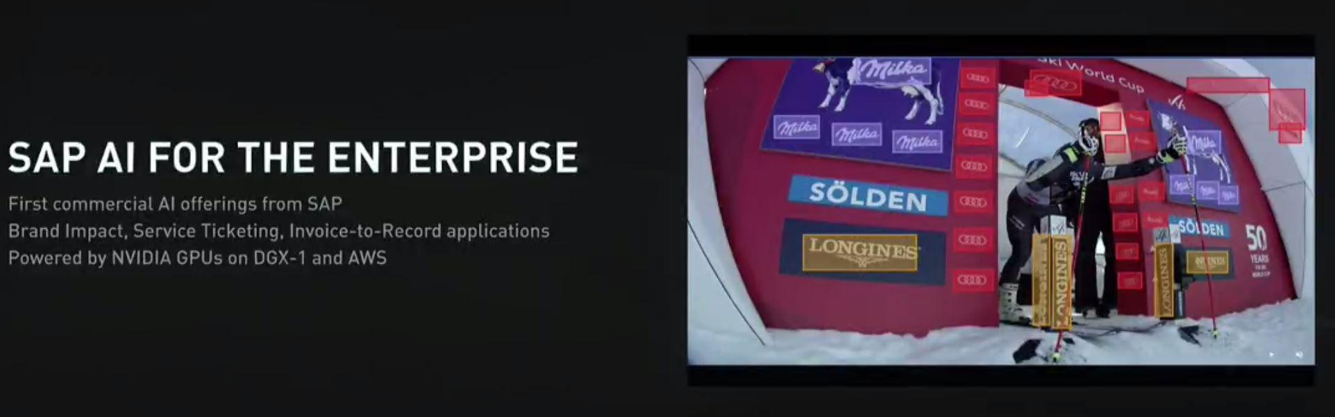 NVIDIA GTC 2017 SAP AI Brand Impact