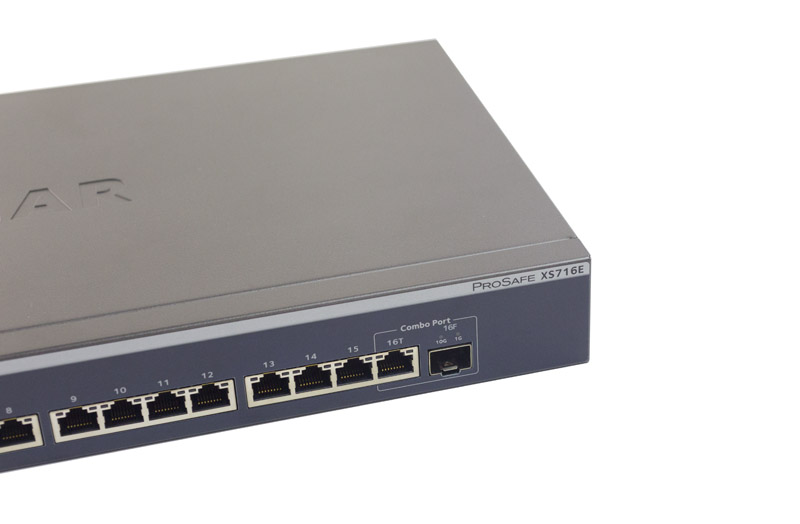 Netgear ProSAFE XS716E Model And Combo Port