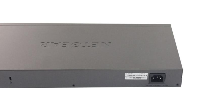 Netgear ProSAFE XS716E Rear