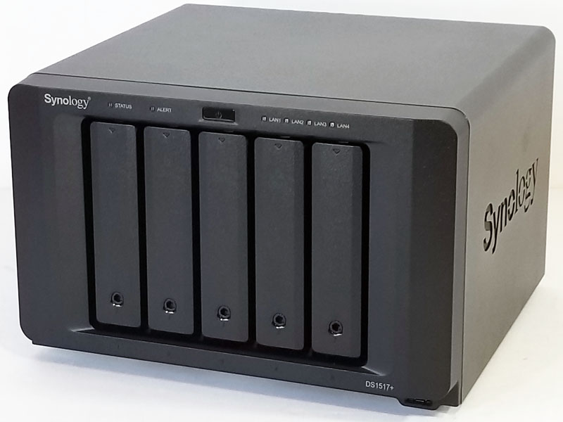 Synology DS1517+ Review 5-Bay NAS 10GbE Powerhouse