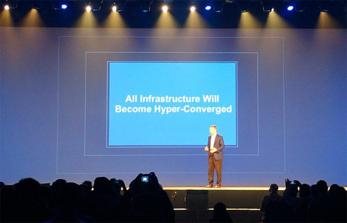VMware Pat Gelsinger All Incrastructure Will Become Hyper Converged