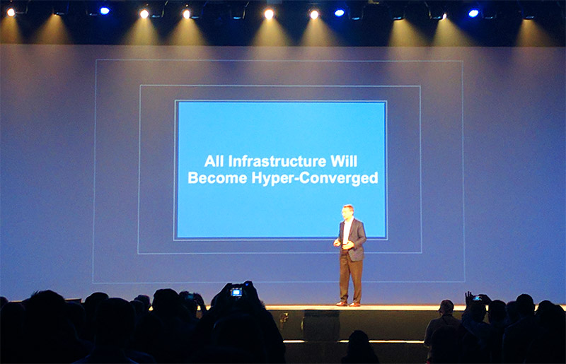 VMware Pat Gelsinger All Infrastructure Will Become Hyper-Converged