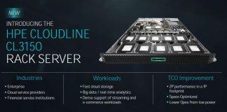 AMD EPYC HPE Cloudline CL3150