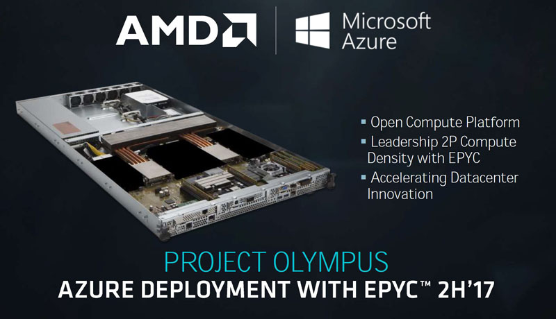 AMD EPYC Microsoft Project Olympus Inventec