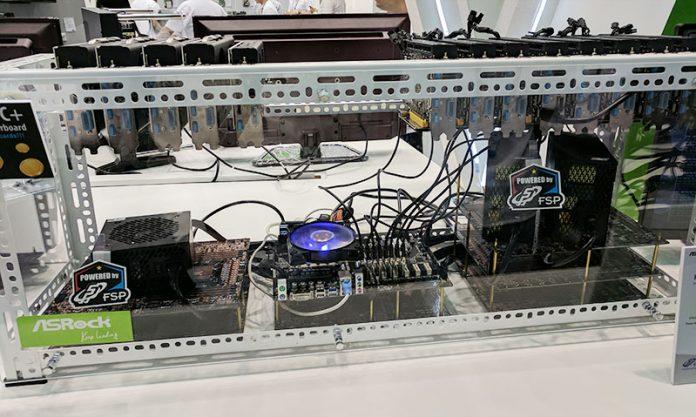 ASRock H110 Pro BTC Plus Full Setup