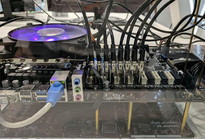 ASRock H110 Pro BTC Plus PCIe Slots