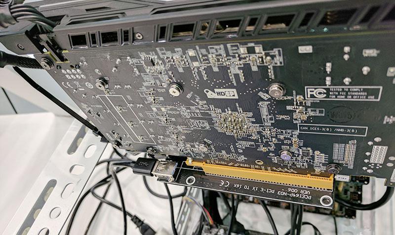 ASRock H110 Pro BTC Plus Risers