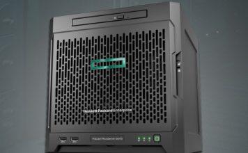 HPE ProLiant MicroServer Gen10 Front