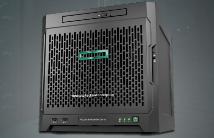 new hpe proliant microserver gen10 powered by amd opteron x3000 apus