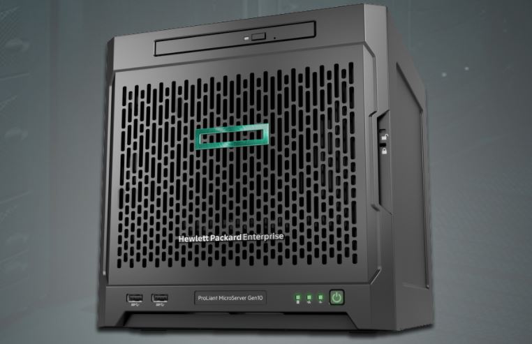 new hpe proliant microserver gen10 powered by amd opteron. Black Bedroom Furniture Sets. Home Design Ideas