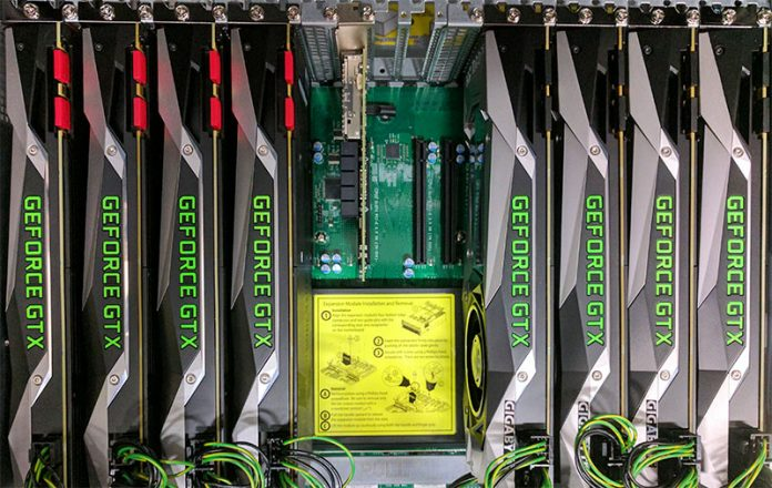 Supermicro 4028GR TR Red V Black NVIDIA GTX 1080 Ti 8x GPU