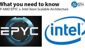 AMD EPYC Infinity Fabric V Intel Skylake SP Architecture Deep Dive