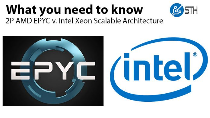 AMD EPYC Infinity Fabric V Intel Skylake SP Architecture Deep Dive