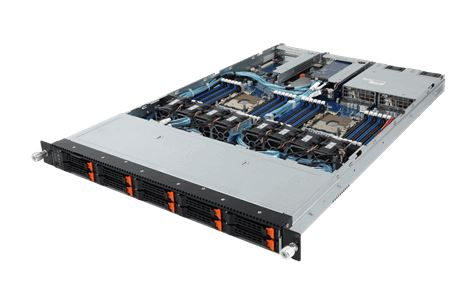 Gigabyte R181 NA0 Front Three Quarter