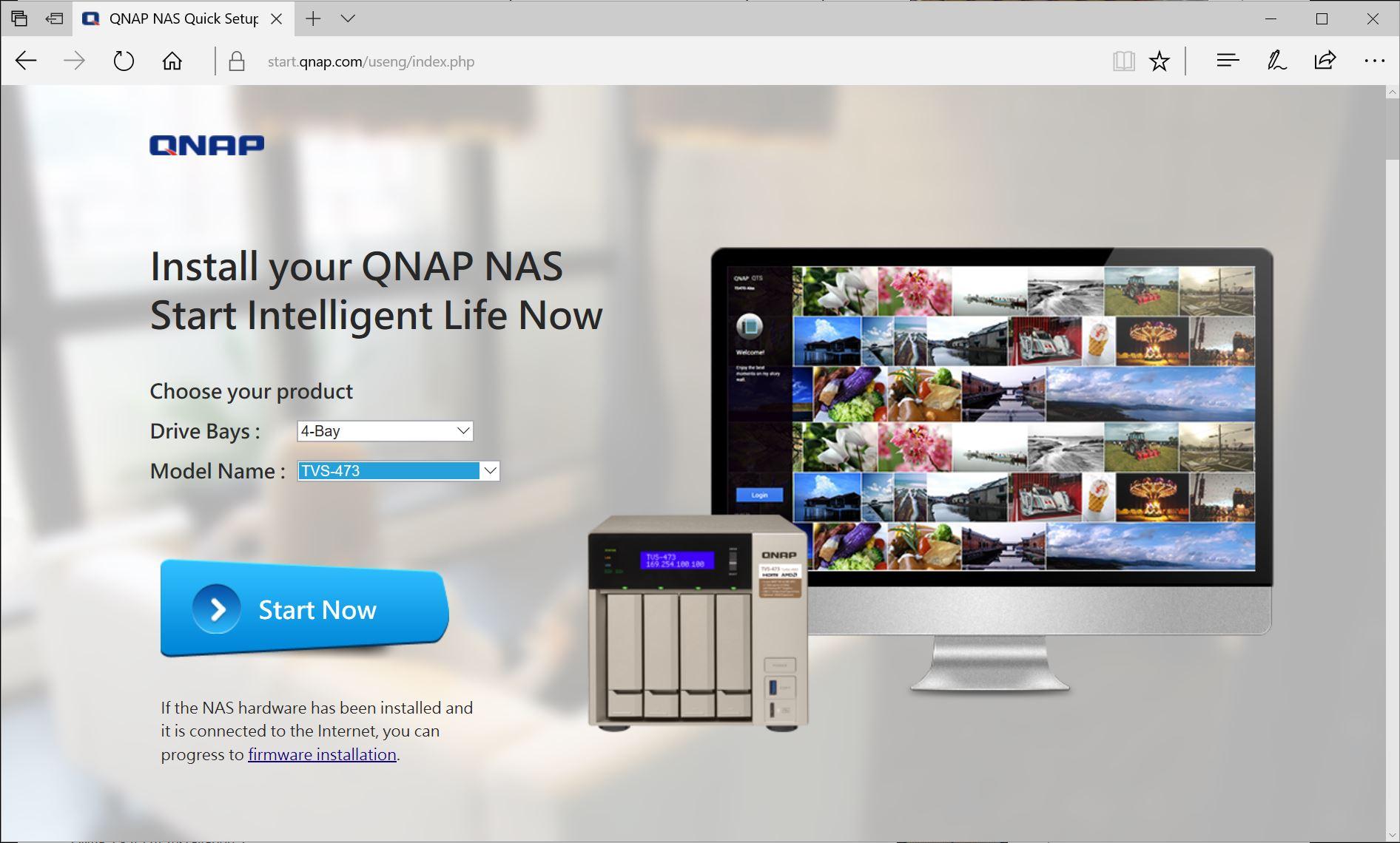 QNAP TVS 473 Installation 1