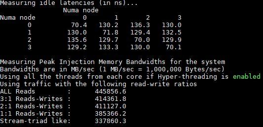 Quad Intel Xeon Platinum 8180 MLC Initial Result