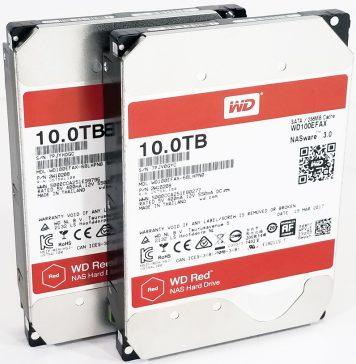 WD Red 10TB NAS Hard Drives