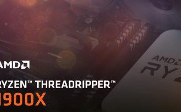 AMD Ryzen Threadripper 1900X Cover