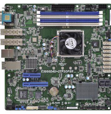 ASRock Rack C3000D4U 2TP2OP8R