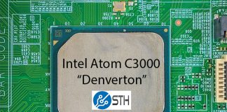 Intel Atom C3000 Denverton Package STH