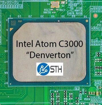 Intel Atom C3000 Denverton Package STH