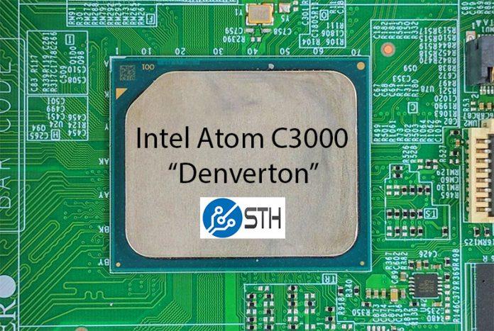 Intel Atom C3000 Denverton 16 Core Package STH