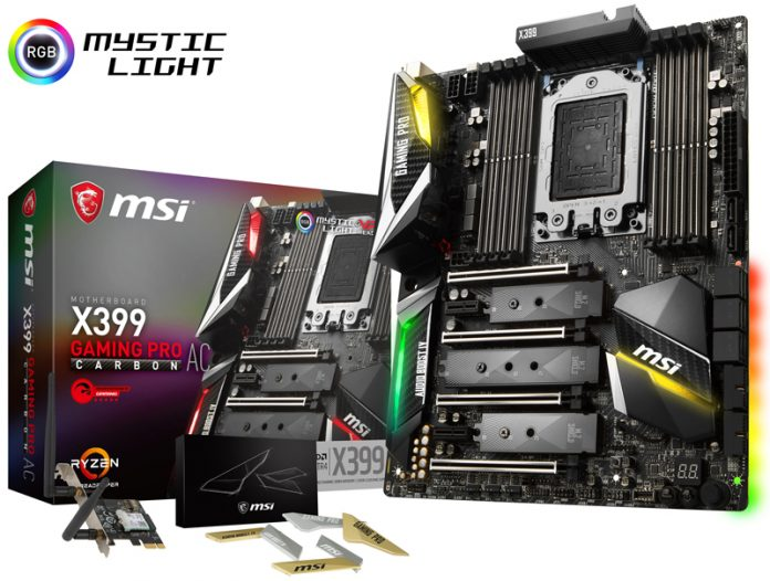 MSI X399 Gaming Pro Carbon AC With Retail Box