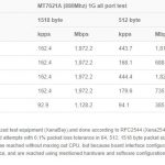 MikroTik RouterBoard HEX RB750GR3 Performance