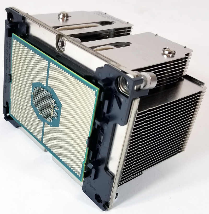 Supermicro X11DPi NT Mounting CPU To Heat Sink