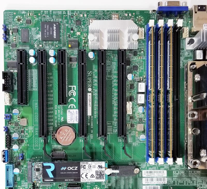 Supermicro X11DPi NT PCIe Slots
