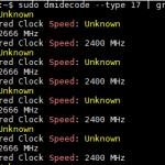 AMD EPYC 7251 2P Memory Speed