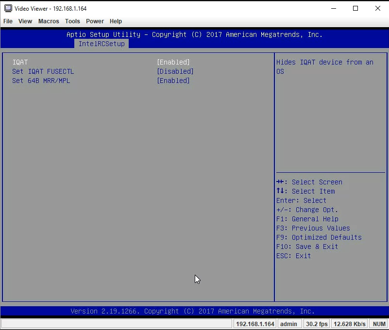 Gigabyte MA10 ST0 IQAT In BIOS