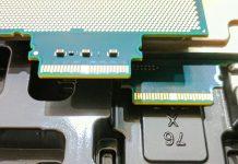 Intel Skylake SP OPA Connectors Top And Bottom Views