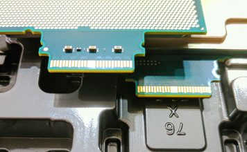 Intel Skylake SP OPA Connectors Top And Bottom Views