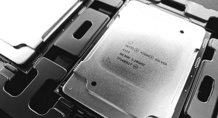 Intel Xeon Silver 4114 Chip