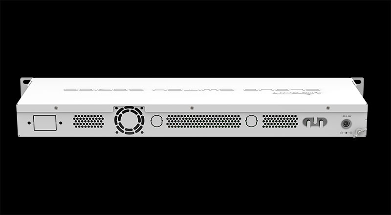 Mikrotik CSS326 24G 2S RM Rear