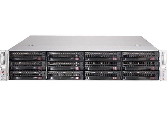 Supermicro SSG-5029P-E1CTR12L Front