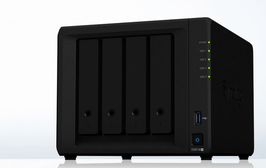 Synology DS918+ Angle