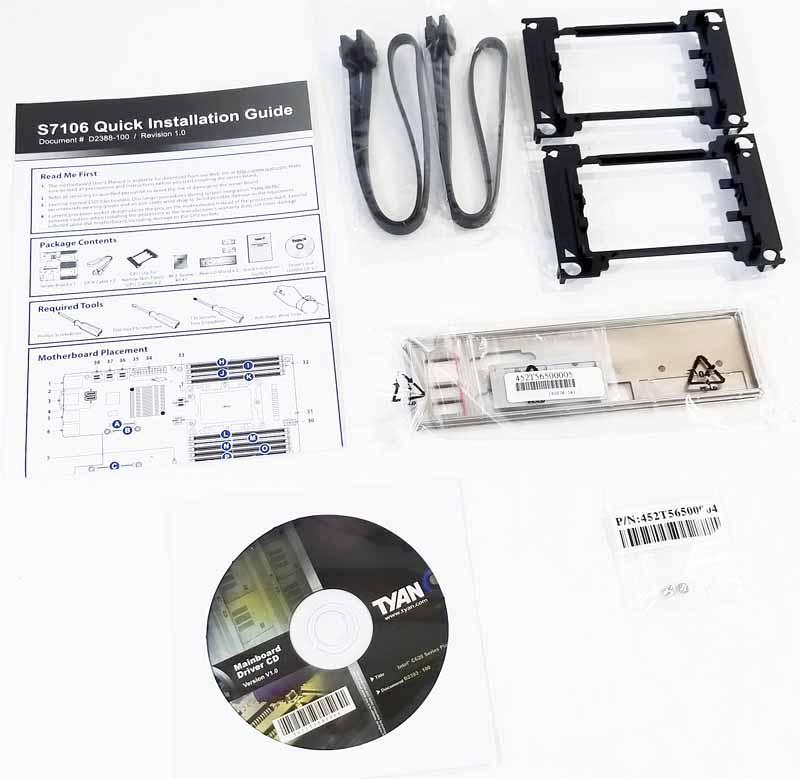 Tyan S7106 Accessories 2