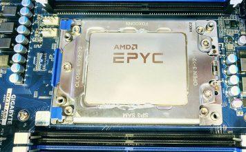 AMD EPYC In Gigabyte Socket